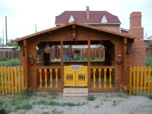 Лесопильный двор